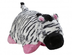 pillow zebra black white pink great