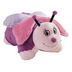 pillow pets pink butterfly size -pillow