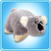 pillow pets koala grey peach original