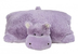 pillow pets hungry hippo lavender original