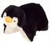pillow pets penguin super-soft chenille plush