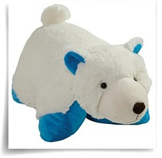 My Pillow Pet Polar Bear 18