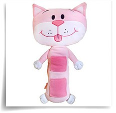 Buy Pink Cat Car Seat Toy