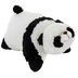 genuine pillow comfy panda black white