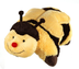 pillow pets buzzy bumble size -large