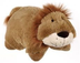pillow lion -pillow -super-soft chenille plush