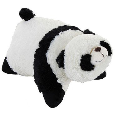 Genuine My Pillow Pet Comfy Panda - Large 18 (black And White)